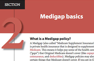 signing up for a Medigap plan